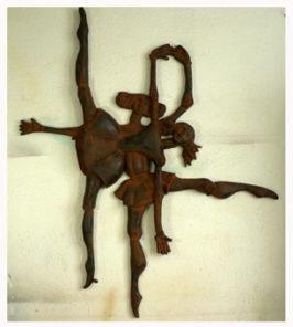 bailarinas1 266x296 - Obra Propia (Escultura), objetos decorativos.