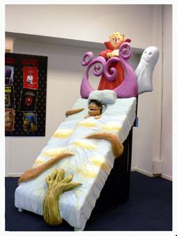cama del miedosalondellibro - Exposiciones
