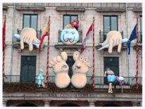 carnaval2006 206x155 - Carnaval. Fachada Ayuntamiento de Burgos