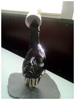 fraking11 - Obra Propia (Escultura), objetos decorativos.