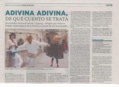 reseña prensa taller guirigay 3 244x179 - Prensa