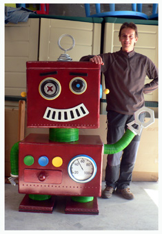 robotmefaltauntornillo - Figuras