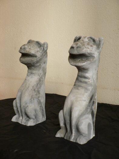 gargolas e1538559528601 393x525 - Obra Propia (Escultura), objetos decorativos.