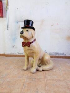 IMG 20190905 181821 225x300 - Perro Labrador. Realizado en poliespan y fibra de vidrio.